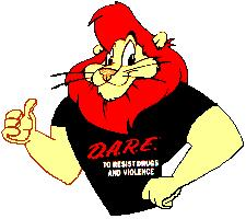 DARE Cartoon Character