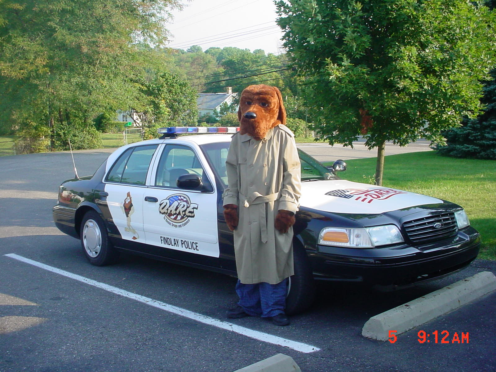 mcgruff the crime dog appearances findlay township pa official